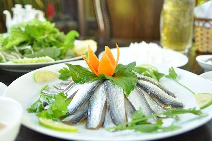 Kien Giang travel experience - fish salad