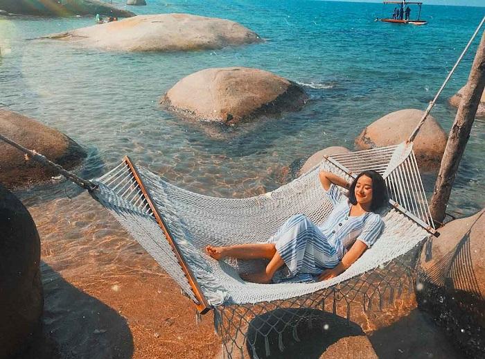 Kien Giang travel experience - Nam Du island