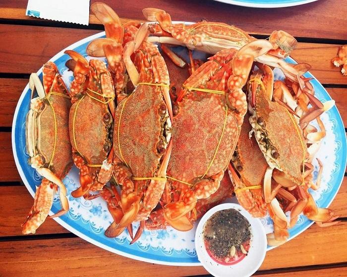 kinh nghiệm du lịch Móng Cái - hải sản