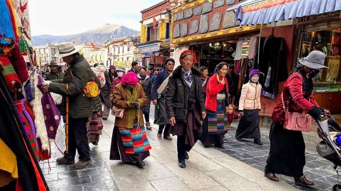 Phố Barkhor - Hướng dẫn du lịch Lhasa