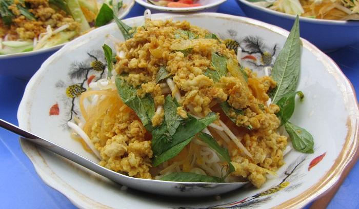 món ăn đặc sản Kiên Giang- bún kèn