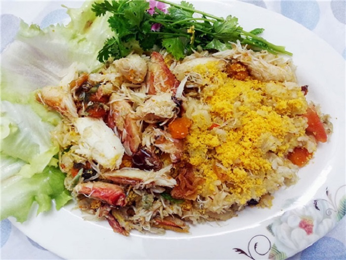 món ăn đặc sản Kiên Giang- cơm ghẹ