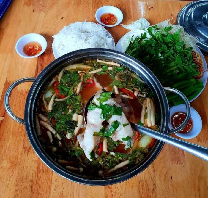 món ăn đặc sản Kiên Giang- lẩu cá nhám