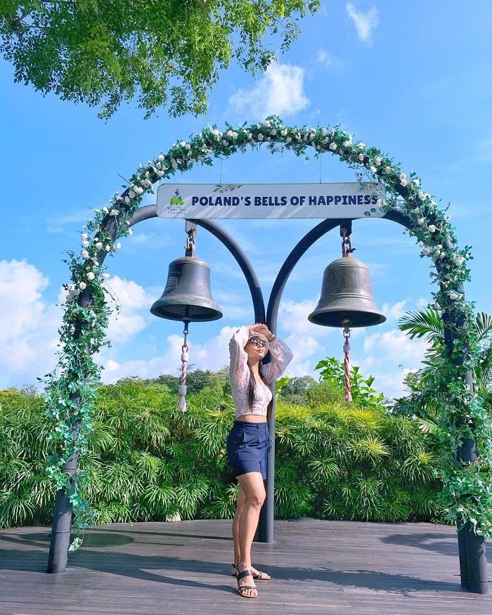 Polish Bells of Happiness - Mount Faber Park Singapore