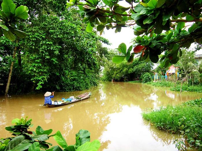 Những nét văn hóa đặc trưng của Sài Gòn- hệ thống kênh rạch