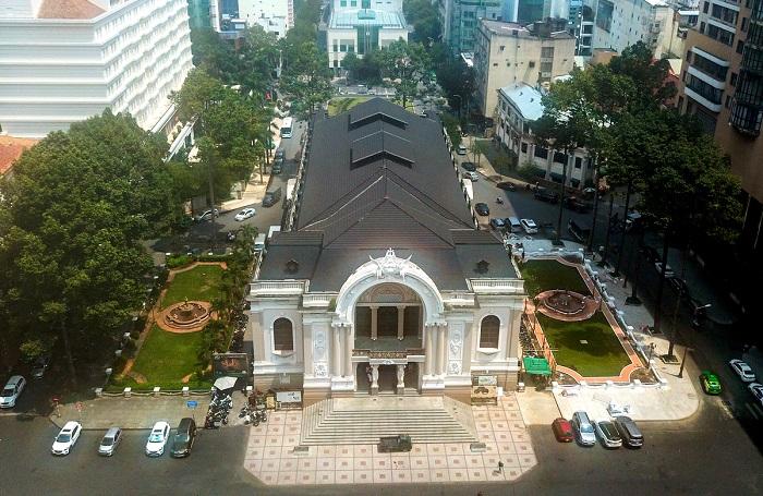 Nhà hát Thành phố Hồ Chí Minh- kiến trúc