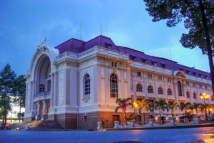 Nhà hát Thành phố Hồ Chí Minh- ở đâu