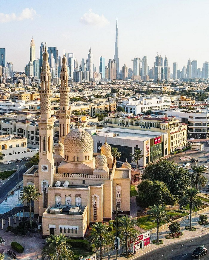 Nhà thờ Hồi giáo Jumeirah Dubai