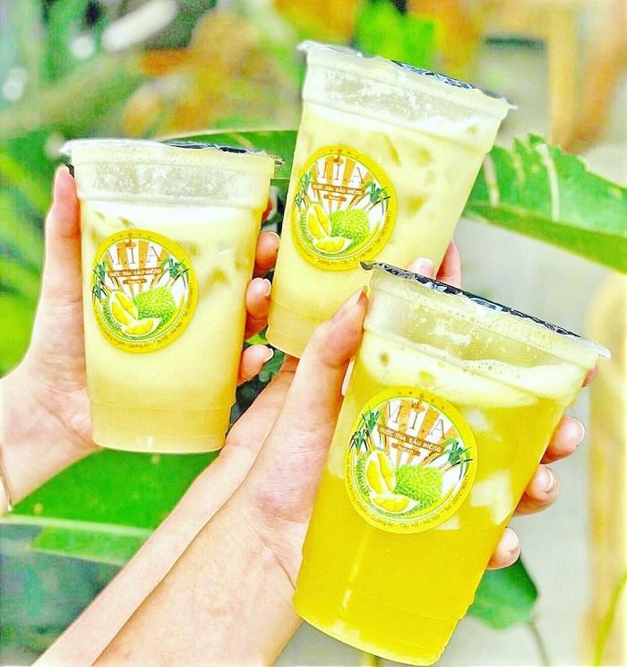 The Giao durian tea - delicious durian tea shop in Hanoi