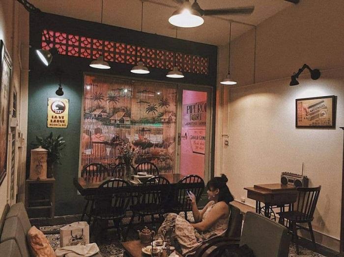 Những quán cafe vintage ở Sài Gòn- Tiệm Cafe Saigon Retro