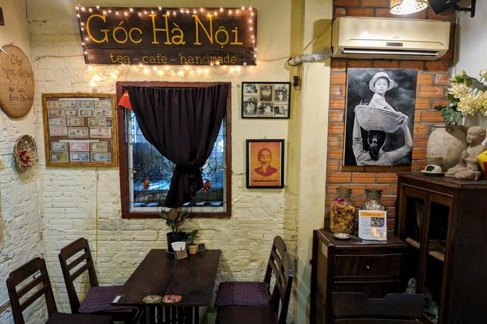 Những quán cafe vintage ở Sài Gòn- Góc Hà Nội-Little HaNoi Egg Coffee
