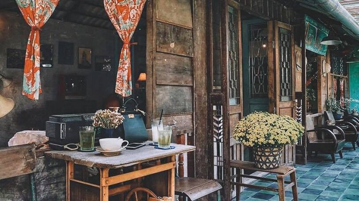 Những quán cafe vintage ở Sài Gòn- Lão HẠC quán