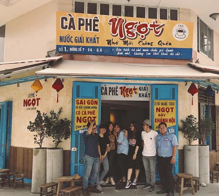 Những quán cafe vintage ở Sài Gòn- Ngọt cà phê