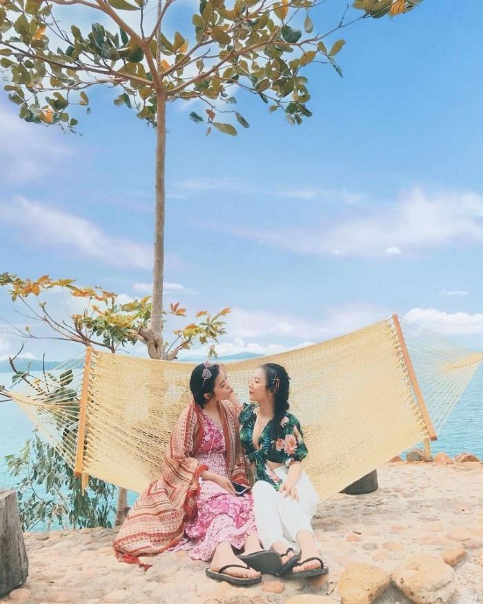 resort ở đảo Nam Du - địa điểm sống ảo