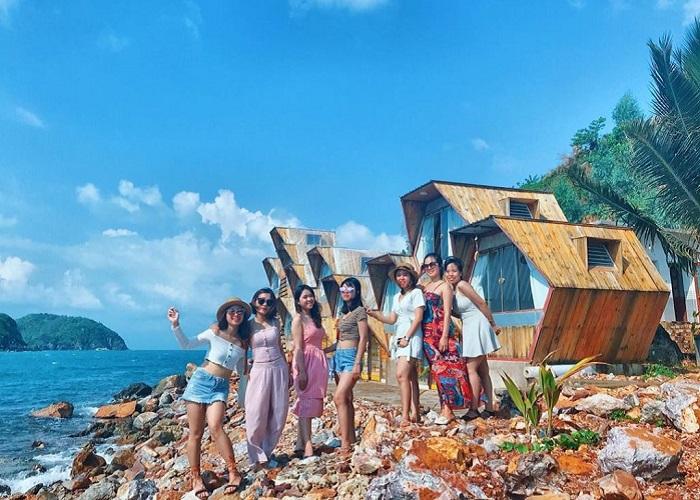 resort ở đảo Nam Du - Resort Humiso