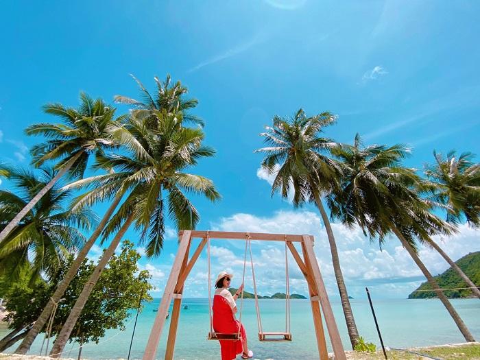 Resort ở đảo Nam Du - Langchia Nam Du Resort thiên đường sống ảo