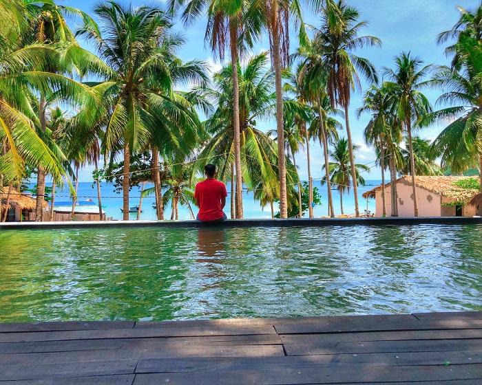 Resort ở đảo Nam Du - Langchia Nam Du Resort hồ bơi