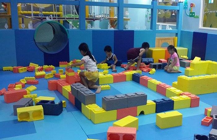 Sky Park Vivocity Sài Gòn - trò trong nhà