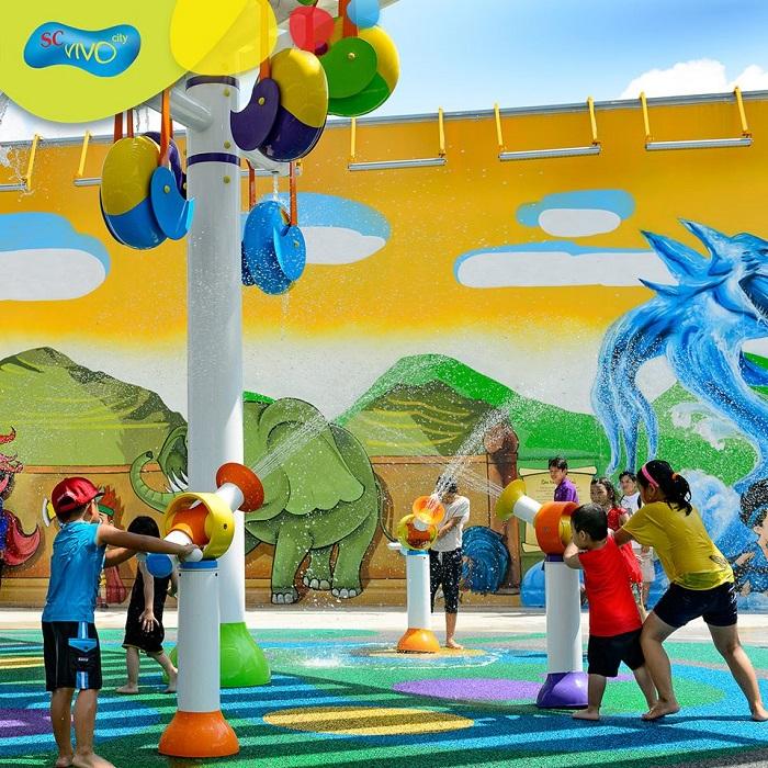 Sky Park Vivocity Sài Gòn - khu vui chơi tầng thượng