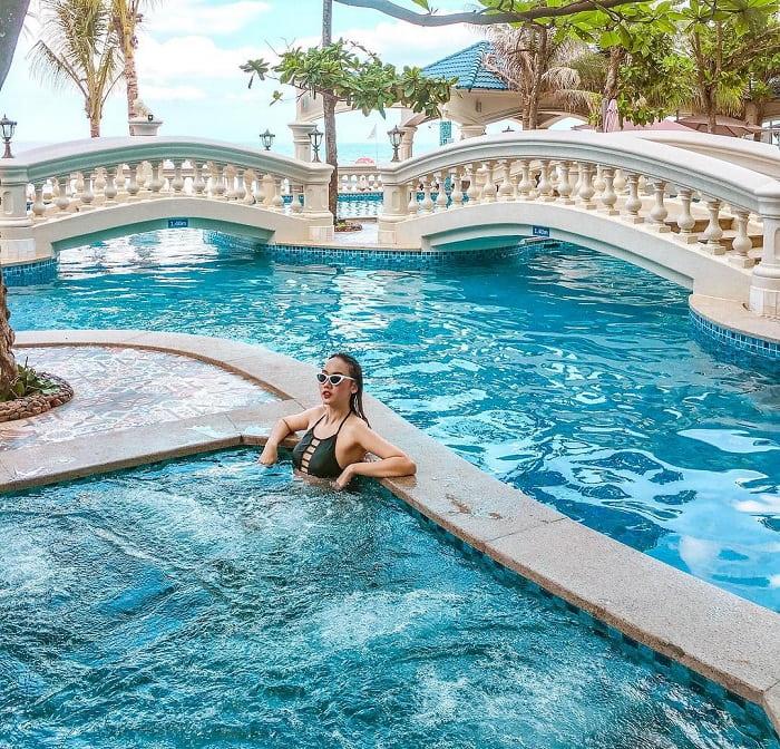 Combo Lan Rừng Phước Hải Resort Spa - trải nghiệm dịch vụ bể bơi