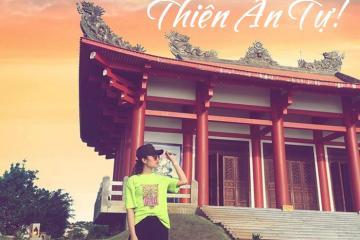 Chùa Thiên Ân Đầm Môn - 'góc Nhật Bản' đẹp mơ màng ở xứ biển Ninh Hòa