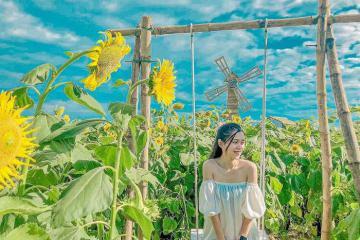 Check in vườn hoa Thanh Vân lên ảnh siêu lãng mạn ở Huế
