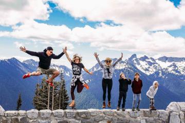Vườn quốc gia Mount Rainier - giấc mơ của những người yêu thiên nhiên
