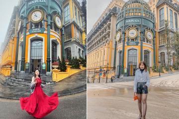 Ngỡ lạc đến Paris hoa lệ tại Sun Plaza Sapa