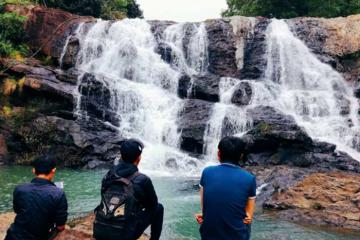 Về Sông Cầu - Phú Yên đến thác Cây Đu check-in, cắm trại, đu dây cực chill