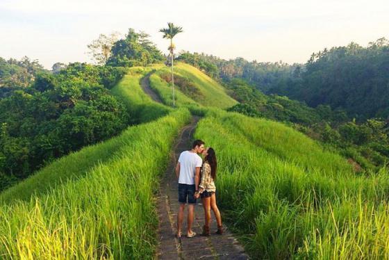 Đi bộ trên con đường tình yêu Campuhan Ridge Walk giữa thiên nhiên Ubud