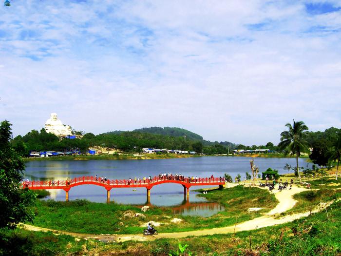 Check in khu du lịch điện mặt trời An Hảo - Tinh Biên