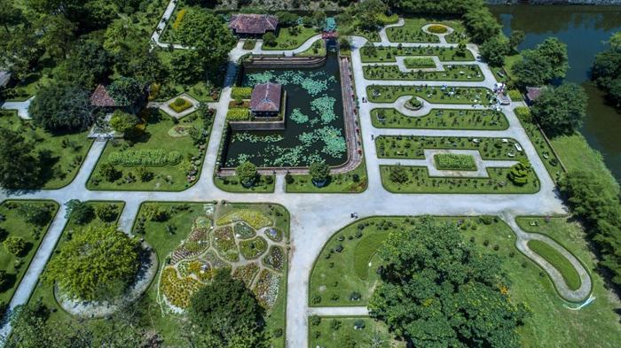 Exploring Co Ha garden - Overall garden