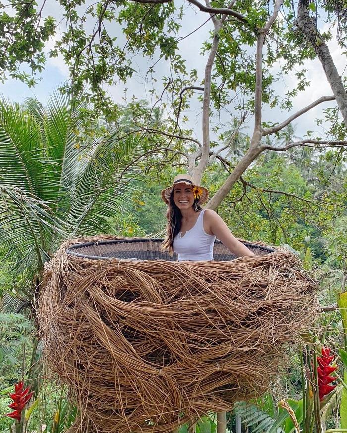 Chụp ảnh ở tổ chim - Zen Hideaway Bali