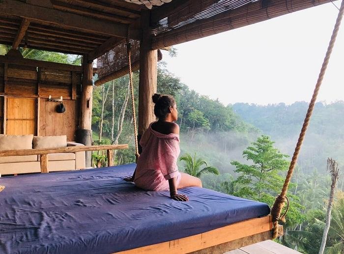 Từ đây bạn có thể ngắm nhìn thiên nhiên Bali - Zen Hideaway Bali