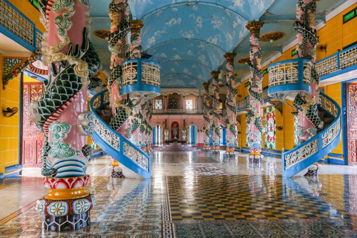 Tòa thánh Tây Ninh - Công trình tâm linh độc đáo của tỉnh Tây Ninh