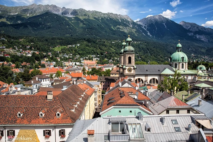 Set foot in the picturesque city of Innsbruck in Austria