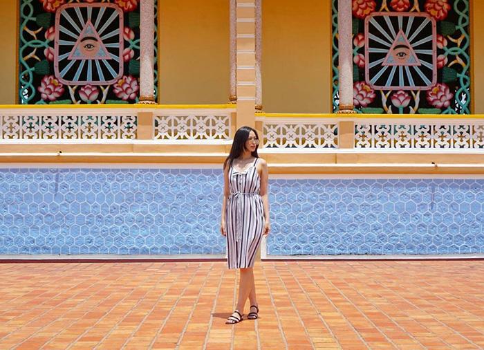 Tòa thánh Tây Ninh - Công trình tâm linh độc đáo của tỉnh Tây Ninh.