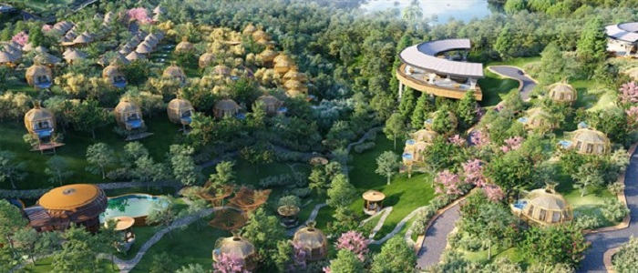 There has never been such a hot resort: To Chim Resort is about to appear in Vietnam