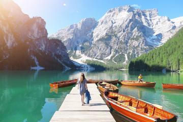 Nước Ý với những điểm đến đẹp ngất ngây lòng người vào mùa thu