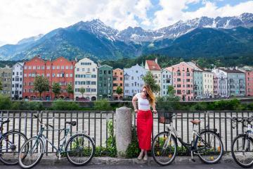 Đặt chân đến thành phố đẹp như tranh vẽ Innsbruck nước Áo