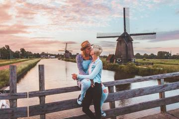 Sống chậm tại ngôi làng cối xay gió Kinderdijk ở Hà Lan