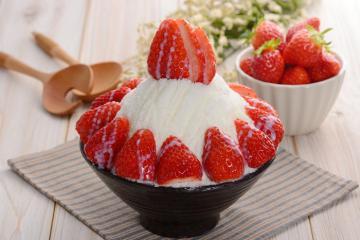Giải nhiệt mùa hè cực đã với món bingsu ở Hàn Quốc