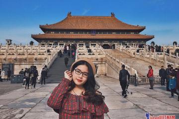 Cô gái Việt xinh đẹp trót yêu Bắc Kinh từ phim ảnh đến đời thực