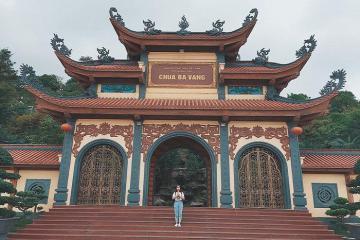 Hướng dẫn du lịch chùa Ba Vàng đầy đủ, cụ thể và chi tiết