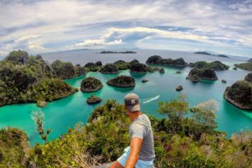 Say đắm cảnh đẹp thiên đường hạ giới Raja Ampat Indonesia