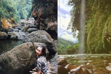 Mê mẩn trước vẻ đẹp của thác Nặm Rứt Thái Nguyên