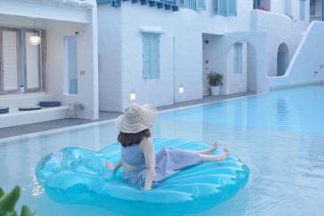 Tận hưởng thiên đường Santorini ngay tại thành phố Hua Hin Thái Lan