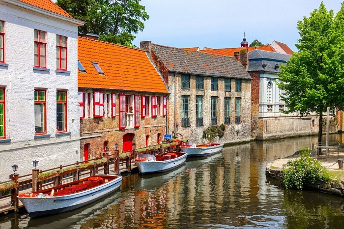 The top attractions in Bruges Belgium
