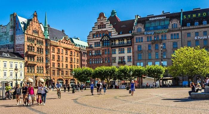 Thành phố Malmo - Thành phố đáng sống nhất ở Thụy Điển