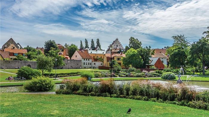 Thành phố Visby - Thành phố đáng sống nhất ở Thụy Điển